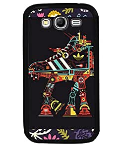 PrintVisa Metal Printed Crazy Designer Back Case Cover for Samsung Galaxy Grand I9080-D4823
