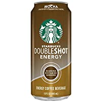 Starbucks Doubleshot Energy Coffee Mocha 15 Ounce Cans 12 Pack