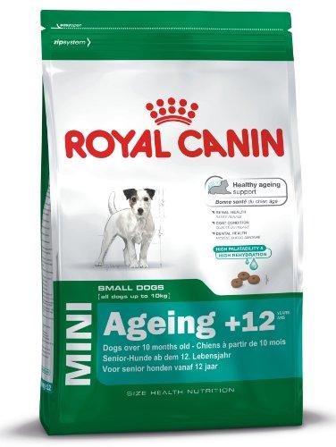 Royal Canin Hundefutter Mini Ageing +12, 3,5 kg, 1er Pack (1 x 3.5 kg)