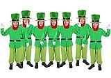 7 X Kobold - Zwerg - Offen L - XL Gruppenkostüm für 7 Personen
