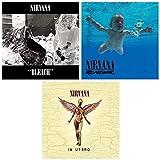 Nirvana: Complete Classic Studio Album Discography - The Kurt Cobain Years - 3 Audio CDs (Bleach / Nevermind / In Utero)