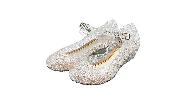 Shangrui Principessa costume bambini scarpe di cristallo dfcd339928e
