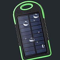 SDYDAY - Cargador de batería Solar con Puerto USB Resistente al Agua de 8000 mAh,