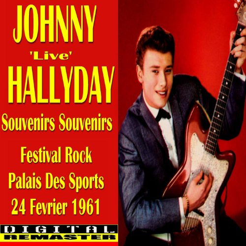 Johnny Hallyday Souvenirs Souvenirs 'Live' in Paris 1961