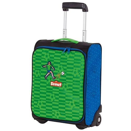 Scout 25510098800 Reisetasche Kindergepäck, 21 Liter, Grün