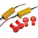 Mintice™ 2 X 12V KFZ Auto LKW 50W 6 Ohm Lastwiderstand Widerstand für LED SMD Blinker Schwanz