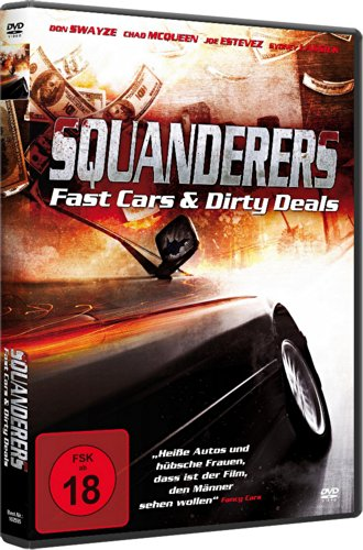 Bild von Squanderers - Fast Cars and Dirty Deals (DVD)