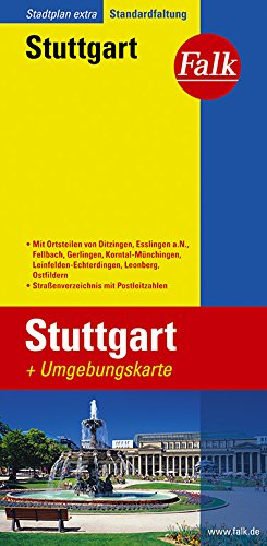 Download Falk Stadtplan Extra Standardfaltung Stuttgart
