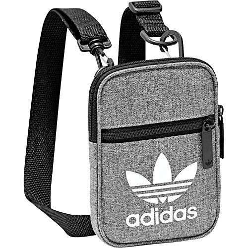 adidas Festival Casual Umhängetasche, Black/White, One Size