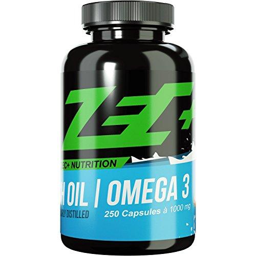 ZEC+ hochdosierte OMEGA-3-Fettsäuren - 250 Kapseln