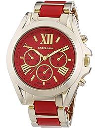 Excellanc Damen-Armbanduhr XL Analog Quarz verschiedene Materialien 150905000007