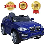 SABWAY® BMW X6Blue Elektroauto mit Lizenz Offizielle für Kinder