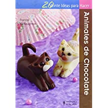 Animales de chocolate