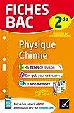 Fiches bac Physique-Chimie 2de : fiches de révision Seconde (French Edition)