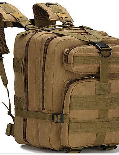 ZQ 50L L Tourenrucksäcke/Rucksack Camping & Wandern / Klettern Draußen / Leistung Feuchtigkeitsundurchlässig / tragbar / MultifunktionsGrau Light Grey