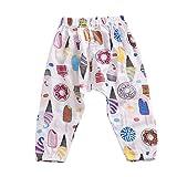 Brightup Sommer Kinderhosen junge Mädchen Pumphose Kinder Harem Hosen Casual elastischen gedruckten Hosen