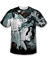 Elvis Presley - Mens Now Playing T-Shirt