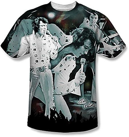 Elvis Presley - Jugend Jetzt T-Shirt, X-Large, White