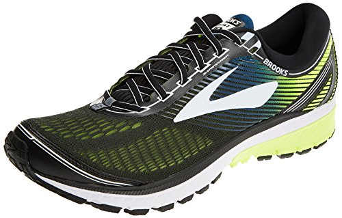 Brooks Ghost 10, Scarpe da Running Uomo, (Black/White/Nightlife 1D024), 41 EU