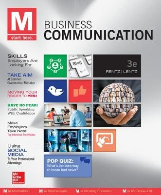 [(M: Business Communication with Connect Plus Access Code)] [Author: Kathryn Rentz] published on (March, 2014)