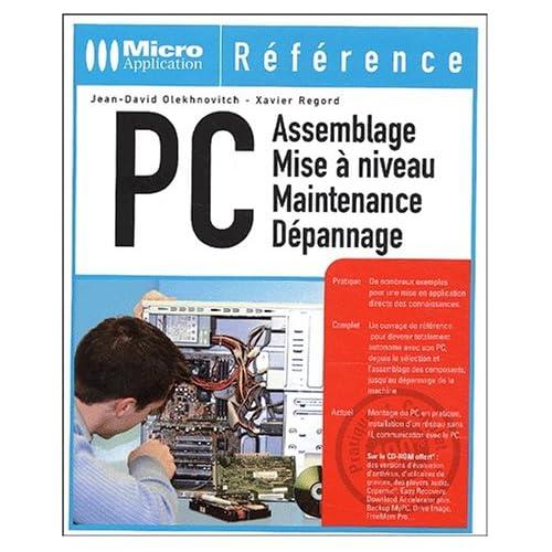 PC Assemblage - Mise à niveau - Maintenance - Dépannage