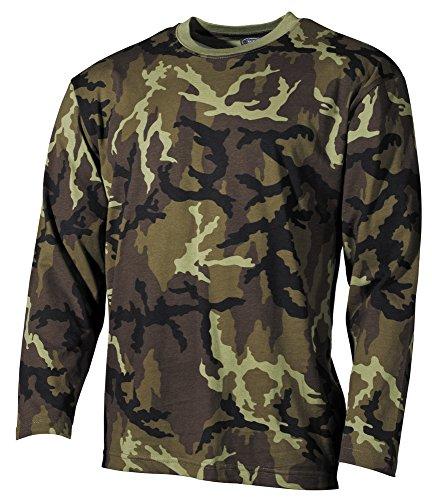 US Tarn-Shirt, langarm, CZ tarn Typ 95, 160g/m² Größe: M -