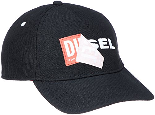 Diesel Herren Accessoires Hüte (Diesel Herren Basecap Cakerym Cap - one size, schwarz)