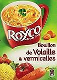 Royco Bouillon Déshydratée de Volaille et Vermicelles 3 Sachets de 31,8 g