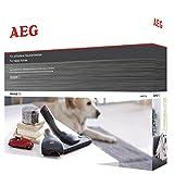 AEG AKIT13 Erweiterungs-Set Animal Kit, Matratzen- und Polsterdüse, Mini-Turbodüse, 36mm (oval)
