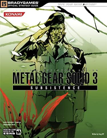 Metal Gear Solid 3: Subsistence Official Strategy