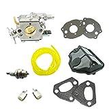 jrl carburador Carb junta filtro de aire para Husqvarna 3641136137141142motosierras