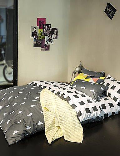 zug,Dreieck Bettbezug setzt 100% Baumwolle Bettwäsche-Set Königin / Doppel / in voller Größe , queen ()