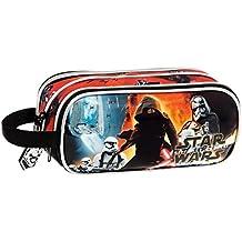 Disney Star Wars Battle Bolso Bandolera, 1.98 Litros, Color Negro