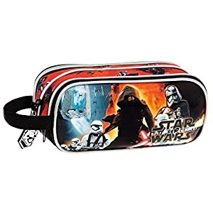Disney Star Wars Battle Bolso Bandolera, 1.98 litros, Color Negro