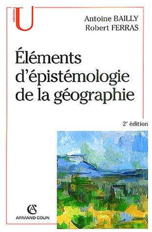 Éléments d'épistémologie de la géographie