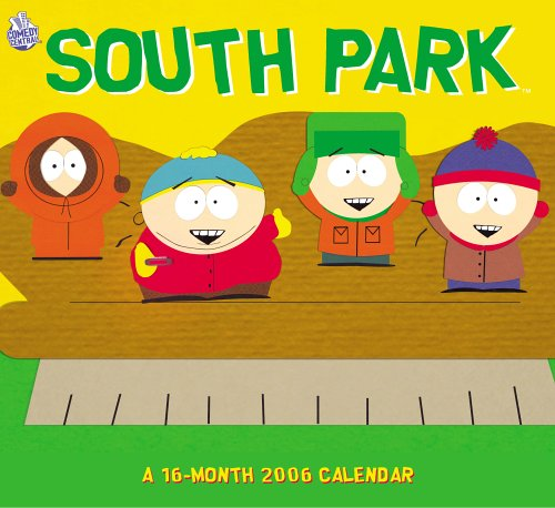 Click for larger image of South Park 2006 Calendar