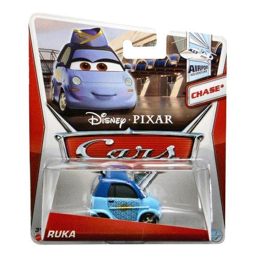 Disney Pixar Cars Ruka (Airport Waitress) *Chase* (Airport Adventure, #7 of 7) - Voiture Miniature Echelle 1:55