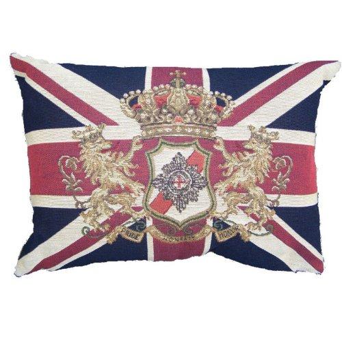 evhkvleb --- Flagge Krone Emblem --- Kissen --- 35 x 45 cm