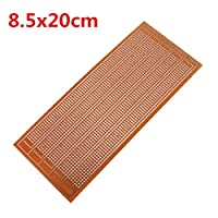 Bluelover 8.5x20cm DIY PCB Prototype Printed Circuit Board Stripboard Single Side