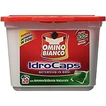 Omino bianco, Idrocaps - Detergente en dosis con suavizante–20unidades