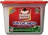 Omino Bianco Idrocaps Detersivo in Dosi con Ammorbidente - 20 Pezzi