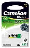 Camelion 11050123 Plus Alkaline Batterie ohne Quecksilber LR23/A/12 Volt, 1er-Pack