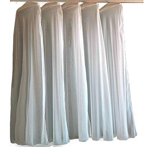 Sunzeus Weiche Tulle staubdichte Abdeckung Tasche für Brautkleider Kleidersack Kleiderhülle...
