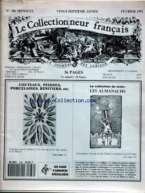 COLLECTIONNEUR FRANCAIS (LE) [No 286] du...