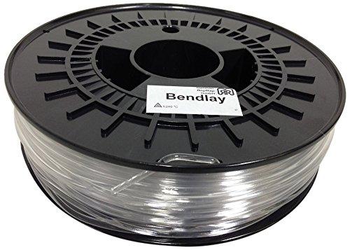 German RepRap Bendlay - Cuerda de plástico (750 g, 3 mm)