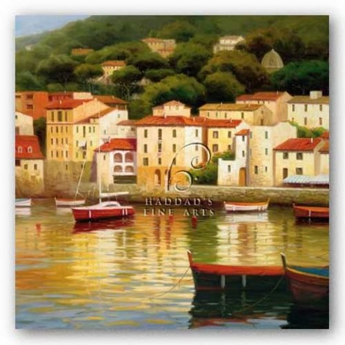 Le Vieux Port von Stu Brity Kunstdruck (Vieux Port)