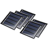 sourcingmap® 5Stk 2,5V 100mA Poly Mini Solar Paneel DIY für Phone Spielzeug Ladegerät