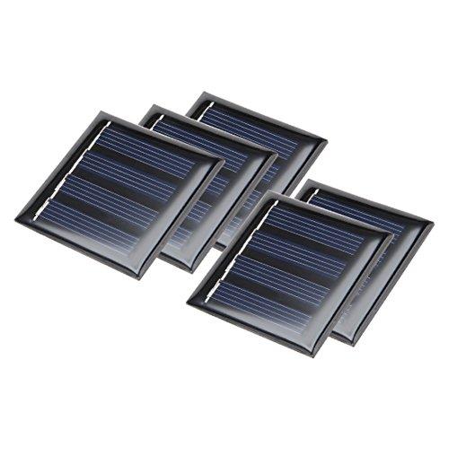 sourcing map 5 STK 2 V 80m A Poly Mini Solarzelle Panel Module Selberbasteln f Telefon Spielzeug Ladegerät DE de