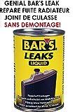 LCM2014 BAR'S Leak Jaune 150ML Anti Fuite Refroidissement REPARE LA Fuite Joint DE Culasse Pompe A Eau RADIATEUR en 5MN sans Aucun DEMONTAGE ! Raid Preparation 4X4