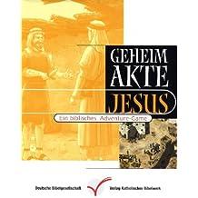 Geheimakte Jesus, 1 CD-ROM Ein biblisches Adventure-Game. Für Windows 95/98/ME/NT/2000/XP oder Mac OS 8.1 oder höher. Spieldauer über 8 Std.